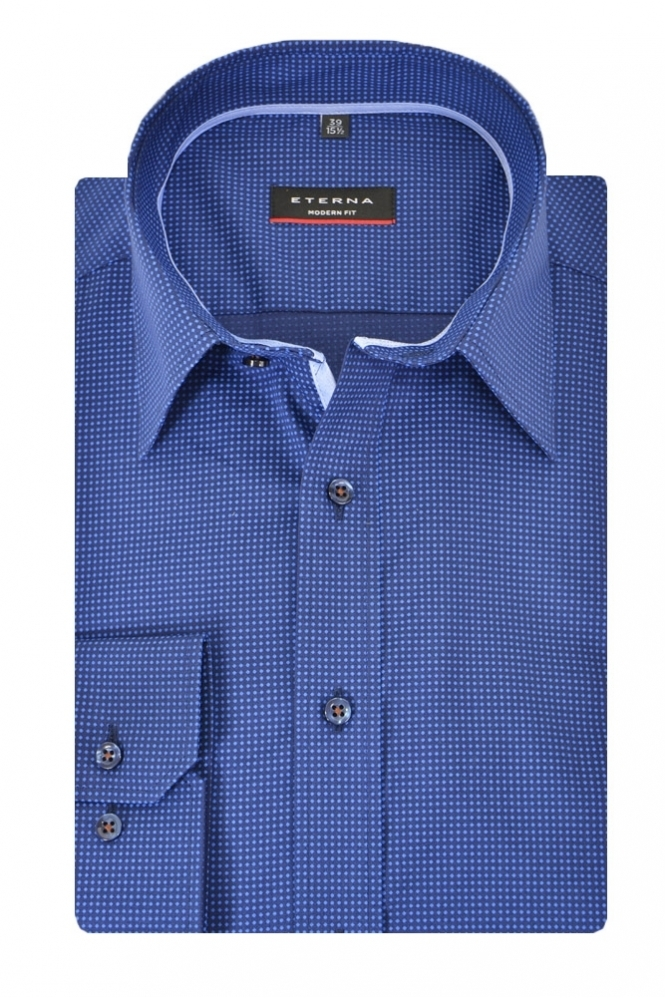 Eterna Casual Eterna Spotted Shirt