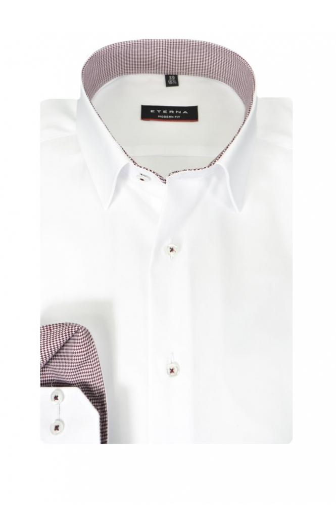 Eterna Formal Eterna Modern Fit Long Sleeve Shirt