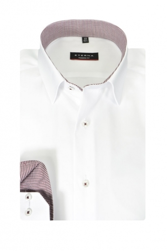 Eterna Modern Fit Long Sleeve Shirt