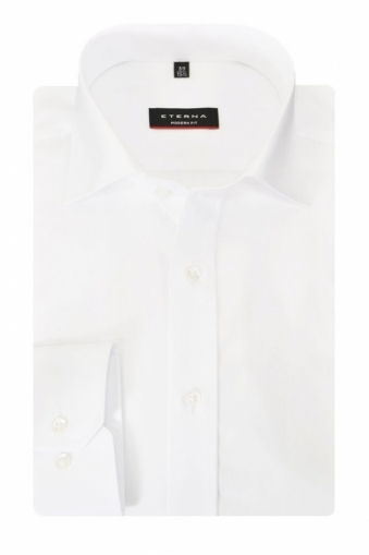 Eterna Red Line Modern Fit Cut Away Collar Shirt