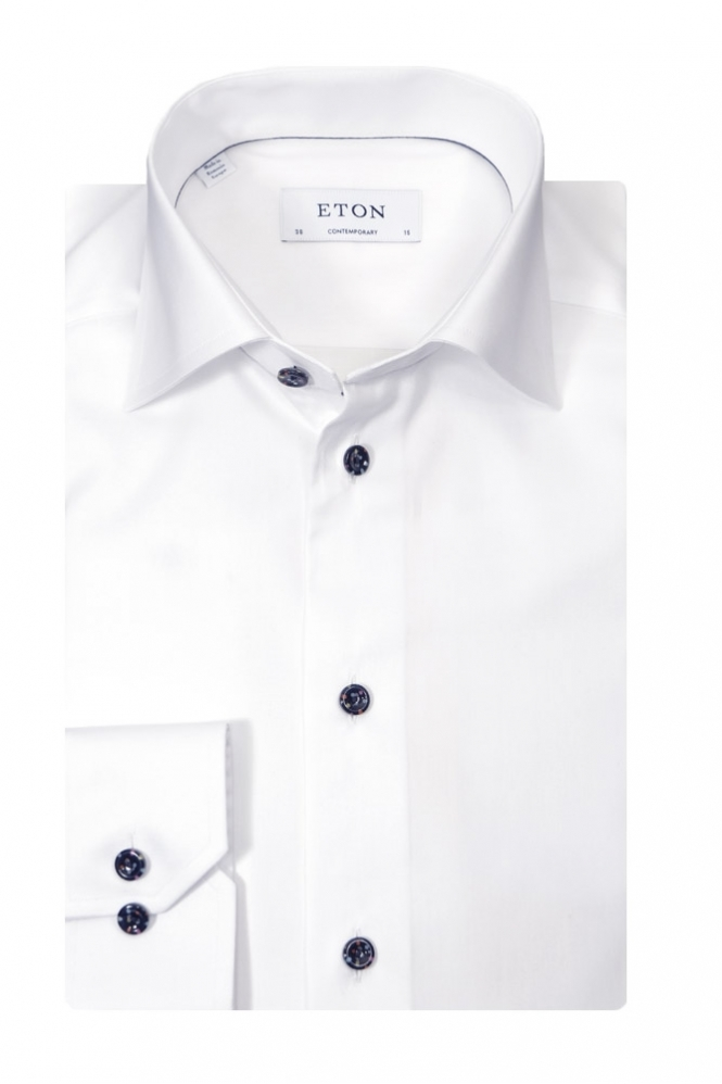 Eton Contemporary Fit Long Sleeve Shirt
