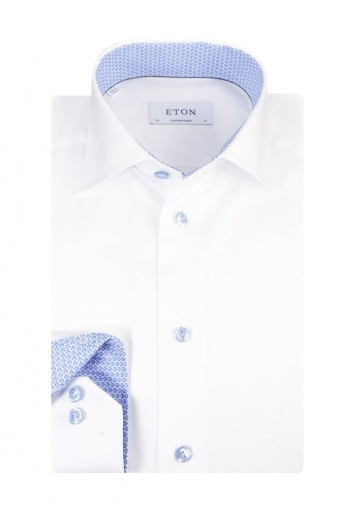 Eton Contemporary Fit Shirt White