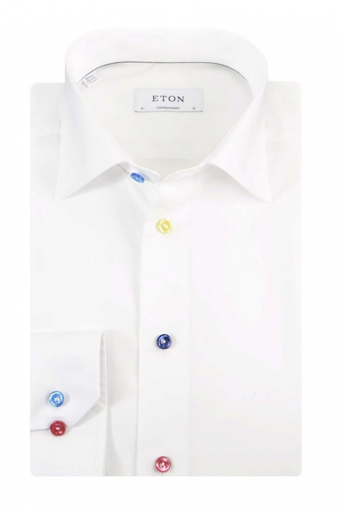 Eton Contemporary Long Sleeve Formal Shirt