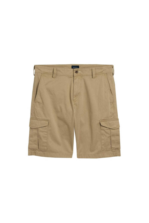 0dea5e4e0847 Gant 01.relaxed Twill Utility Shorts Dark Khaki - Clothing from ...