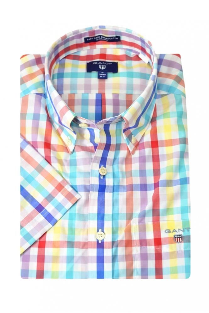 Gant Broadcloth Short Sleeve Shirt