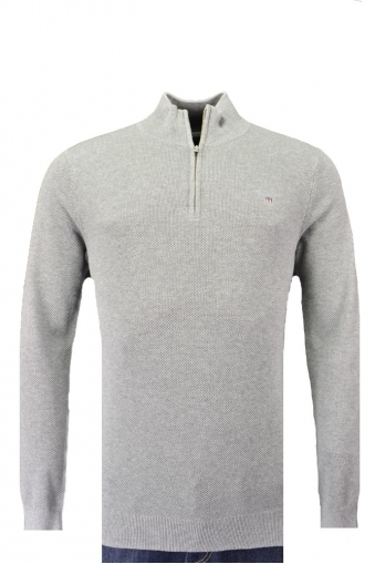 Gant Cotton Half Zip Knitwear