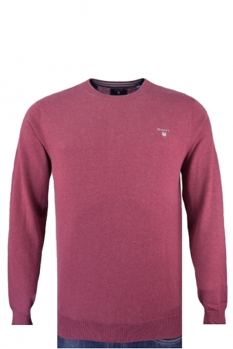 Gant Cotton Wool Crew Neck Jumper