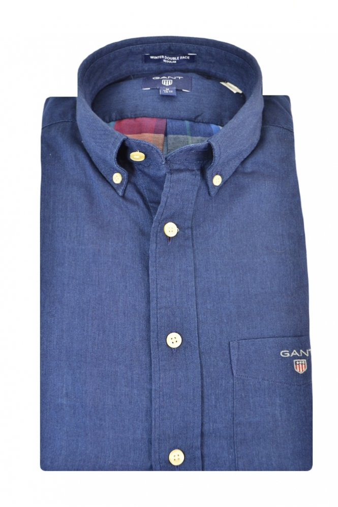Gant Double Face Long Sleeve Regular Fit Shirt