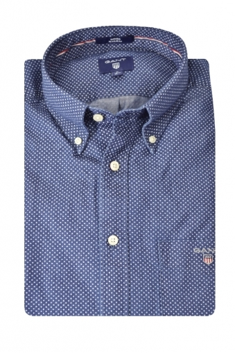 Gant Long Sleeve Button Down Chambray Shirt