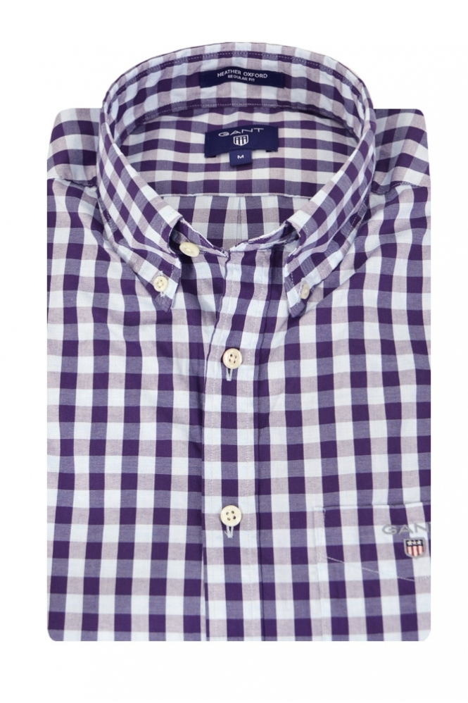 Gant Long Sleeve Button Down Regular Fit Check Shirt