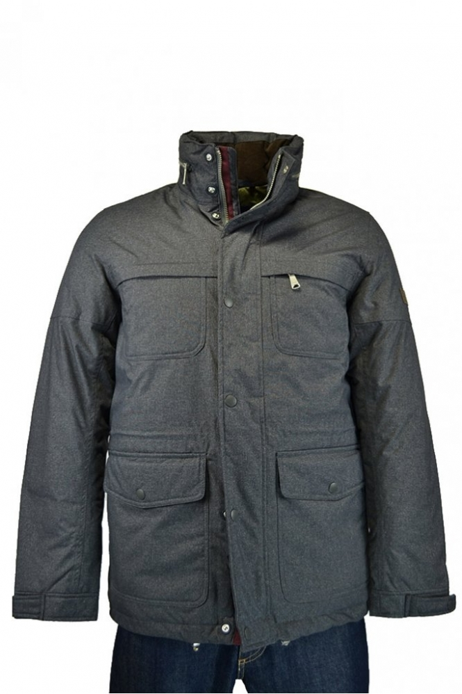 Gant N.y The Artic Bowhook Jacket Charcoal