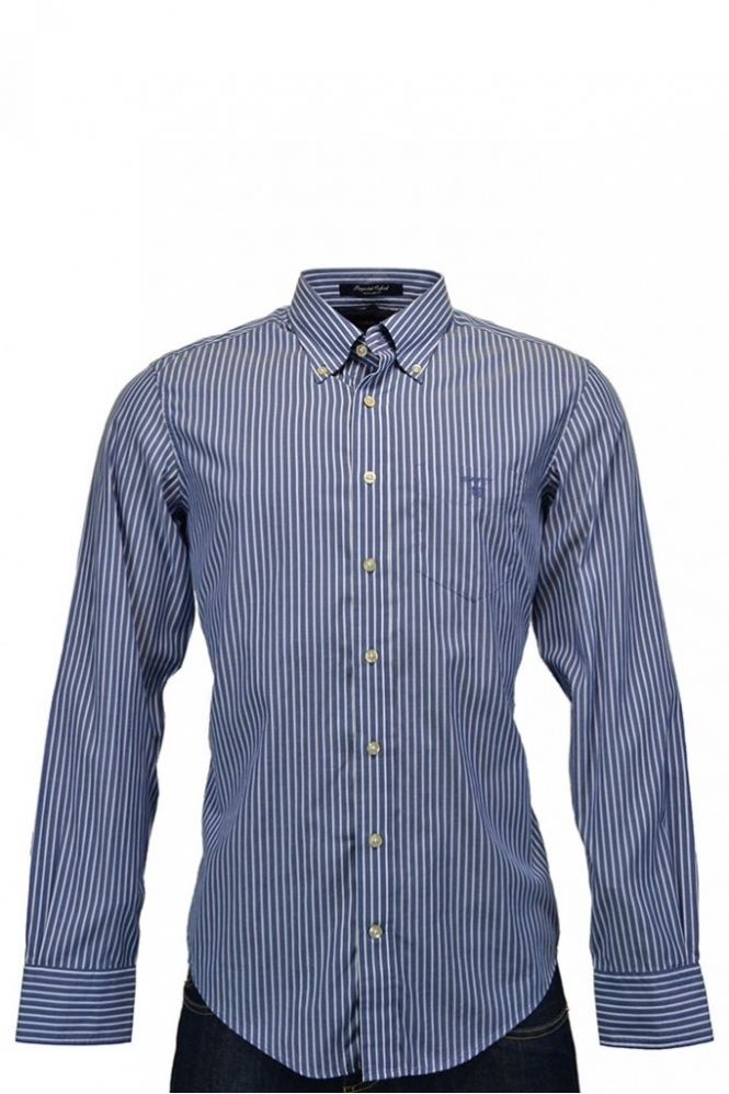 Gant Pinpoint Oxford Stripe