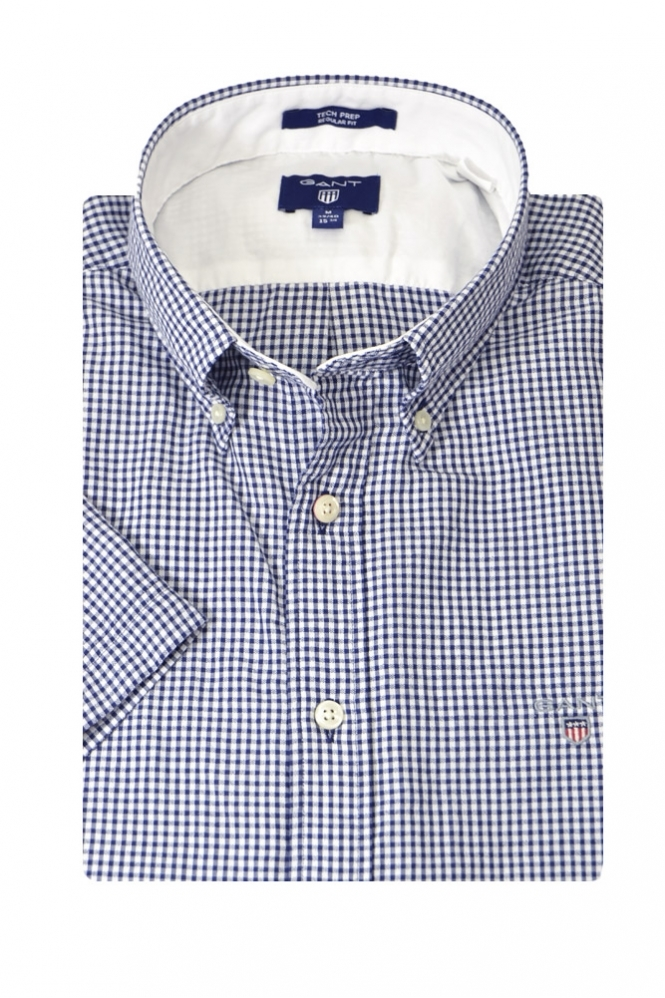 Gant Short Sleeve Tech Prep Button Down Shirt