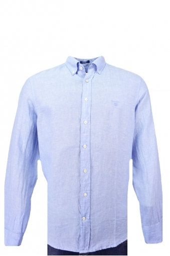 Gant Solid Linen Long Sleeve Shirt