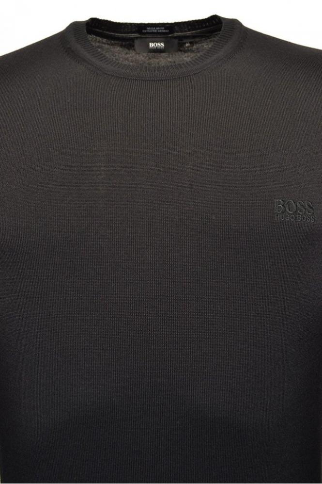 981de9473 Hugo Boss Black Hugo Boss Bagritte-B Crew Neck Jumper - Clothing ...
