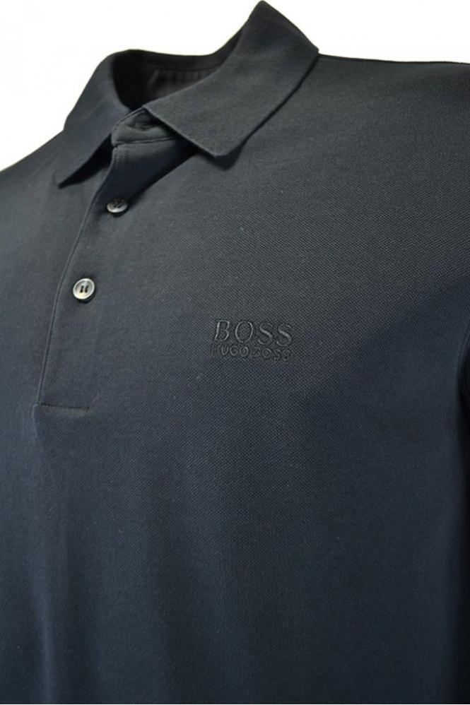 Hugo Boss Banet-b Knitted Polo Shirt