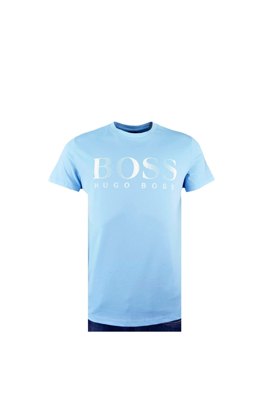 b180724595 Hugo Boss Black Hugo Boss Beachwear T-shirt Light Blue - Clothing ...