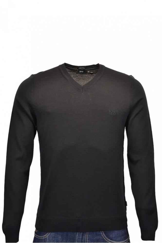 8449d291386 Batisse-D V Neck Jumper Merino Wool