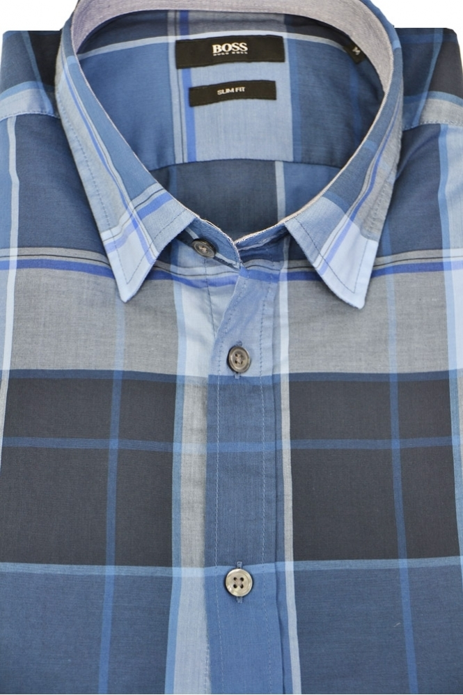 4c54067f6 Hugo Boss Black Ronni 2 Check Shirt - Clothing from Michael Stewart ...
