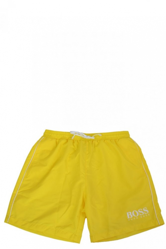 d2d60e6004 Hugo Boss Black Hugo Boss Black Starfish Swim Short Yellow