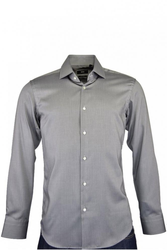 170a2edfd Hugo Boss Black Hugo Boss Gerald Shirt Grey - Clothing from Michael ...