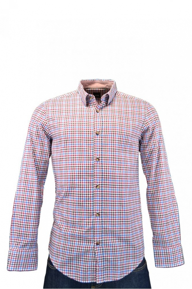 Hugo Boss Black Hugo Boss Ronny 21 Shirt Multi Check