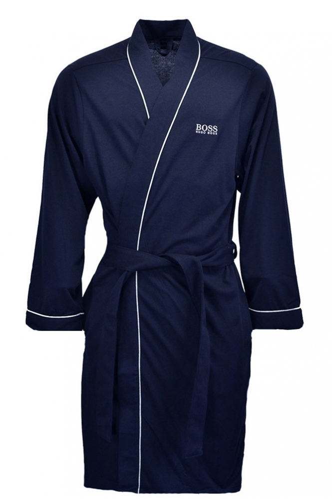 Hugo Boss Black Kimono Dressing Gown Navy Clothing From Michael