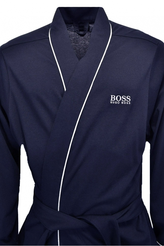 Hugo Boss Black Kimono Dressing Gown Navy - Clothing from Michael ...