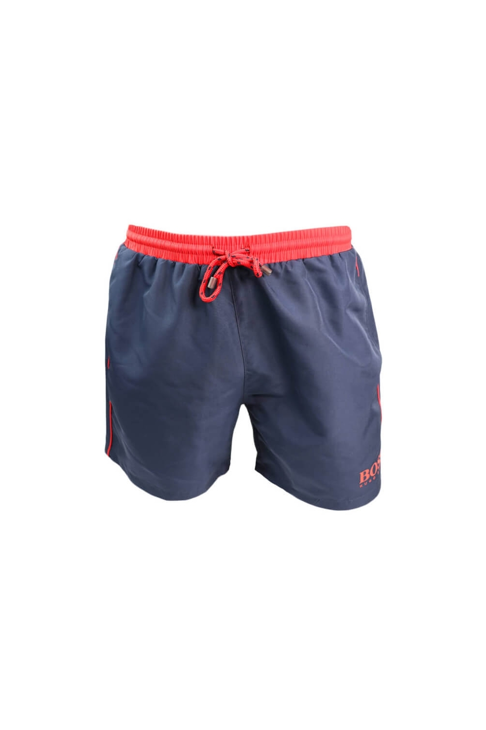 62006b45 Hugo Boss Black Starfish Swim Shorts Navy/red - Clothing from ...