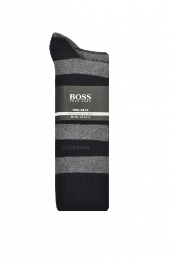 Hugo Boss Black Twin Pack Socks