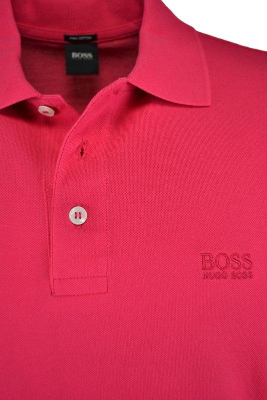 460831a92 Hugo Boss Black Hugo Boss Ferrara Polo Shirt Cerise