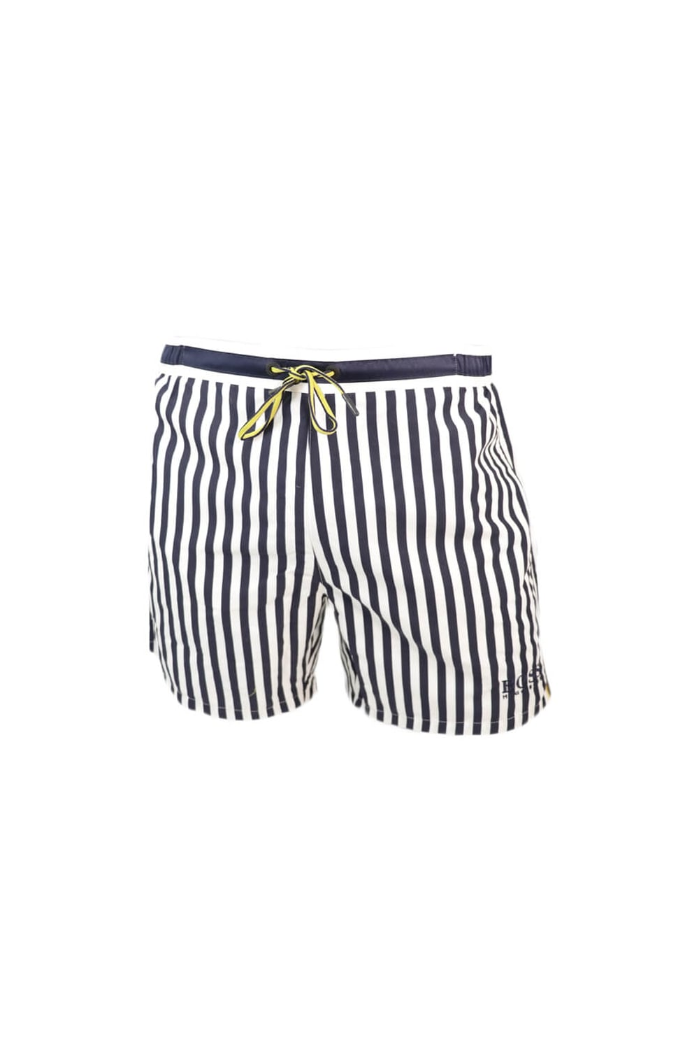 a73a07f6fcfe9 Hugo Boss Green Bannerfish Swim Shorts Navy Stripe - Clothing from ...