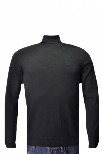 Hugo Boss Green C-Calvin Roll Neck Jumper