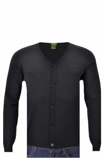 Hugo Boss Green C-can Buttoned Cardigan