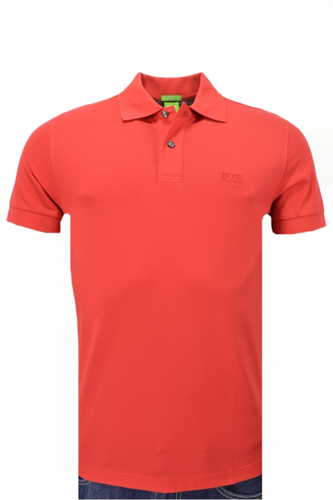 Hugo Boss Green C-firenze Logo Polo Shirt
