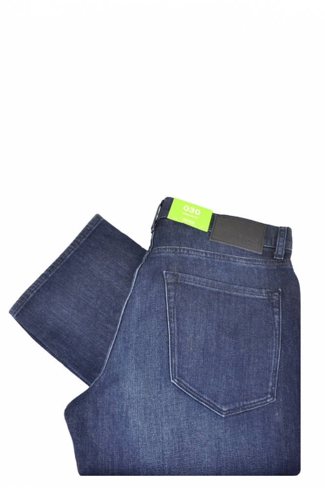 Hugo Boss Green C-maine 1 Regular Fit Jeans Blue Denim