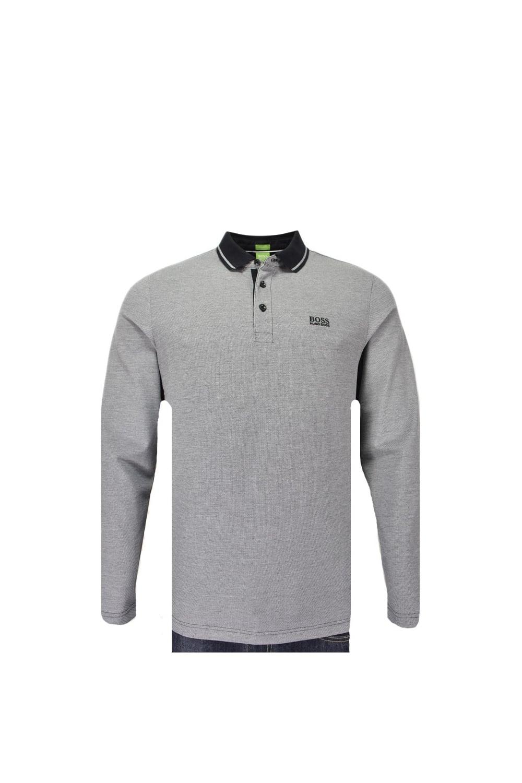 e36dde099 Hugo Boss Green C-prato Long Sleeve Polo Shirt - Clothing from ...