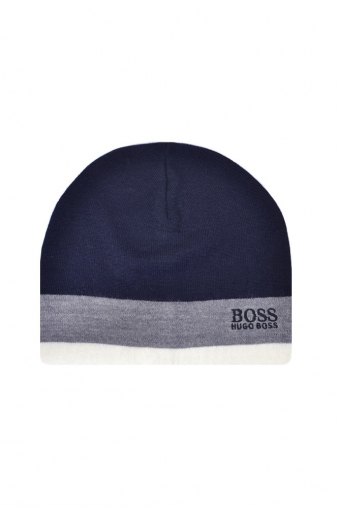 Hugo Boss Green Ciny Beanie Hat