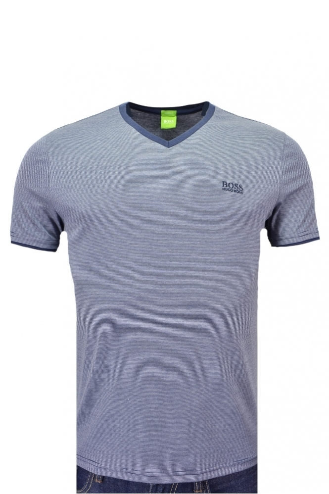 Hugo Boss Green Hugo Boss C-Eraldo V Neck T Shirt