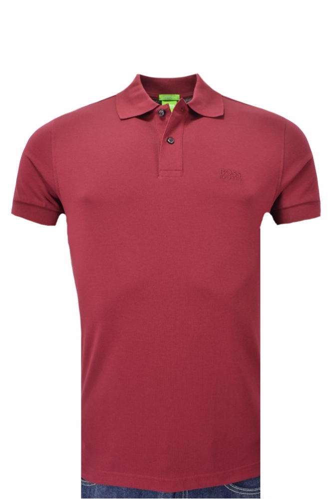 Hugo Boss Green Hugo Boss C-firenze Logo Polo