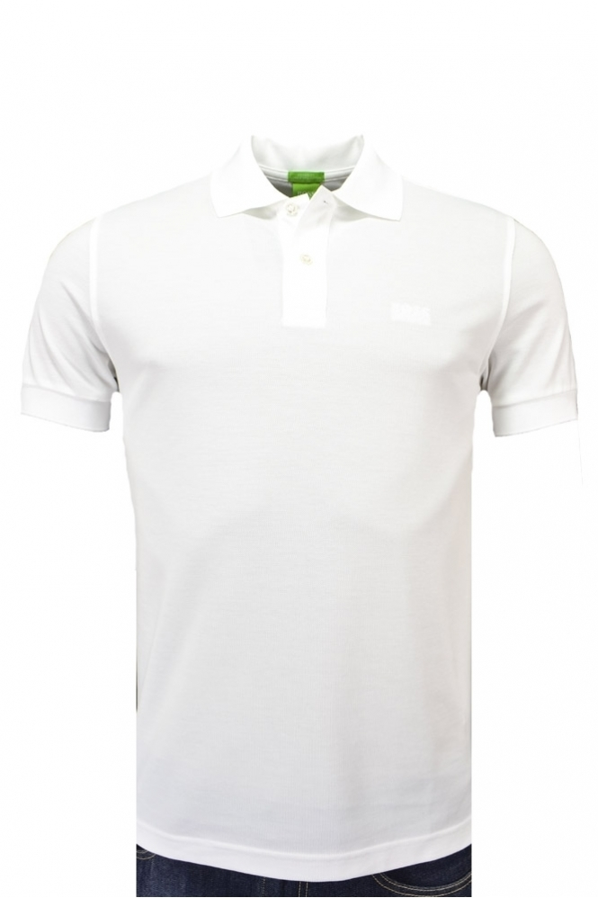 Hugo Boss Green Hugo Boss C-firenze Logo Polo Shirt