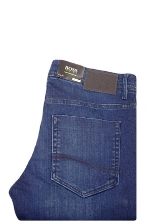 074155423e5bf Hugo Boss Green C-delaware 1-200 Slim Fit Stretch Jeans Black ...