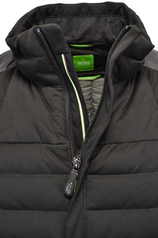 224e0115be Hugo Boss Green Jessino Jacket Black - Clothing from Michael Stewart ...
