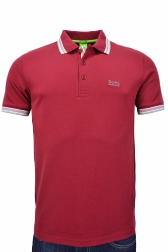 Hugo Boss Green Modern Fit Paddy Polo Shirt