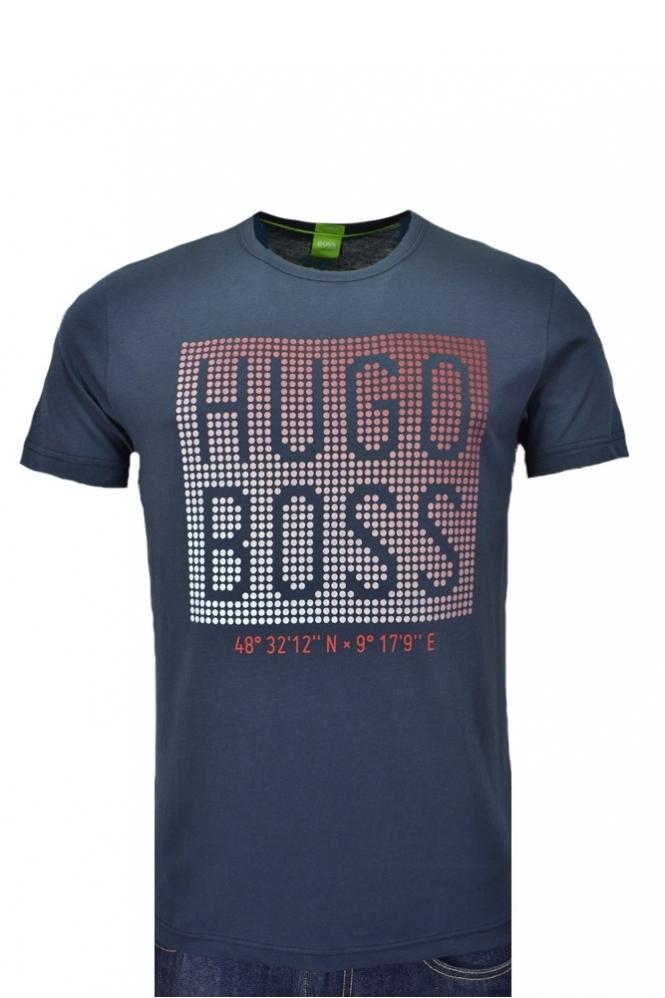 Hugo Boss Green Modern Fit Teeos T-Shirt
