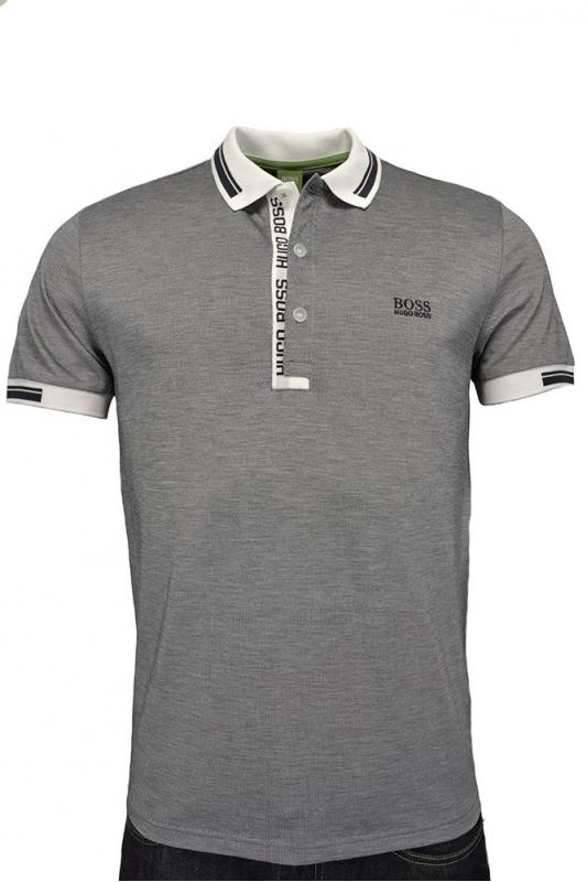 Hugo boss green paule 4 polo shirt white clothing from for Hugo boss dress shirt review