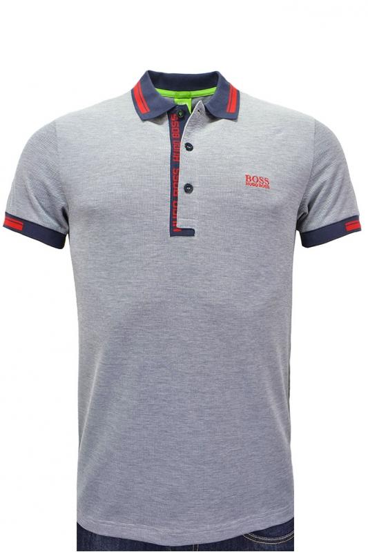 Hugo Boss Green Slim Fit Paule 4 Polo Shirt Clothing