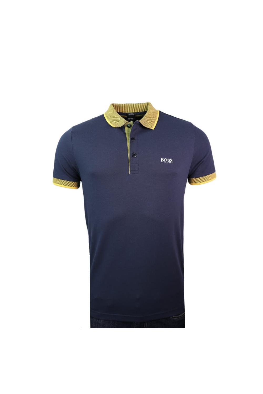 6931ce509 Hugo Boss Green Hugo Boss Paule 2 Slim Fit Polo Shirt Navy ...