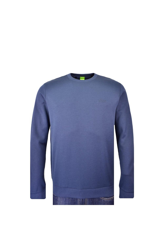 927a5d76 Hugo Boss Green Hugo Boss Salbo 1 Crew Neck Sweatshirt - Clothing ...