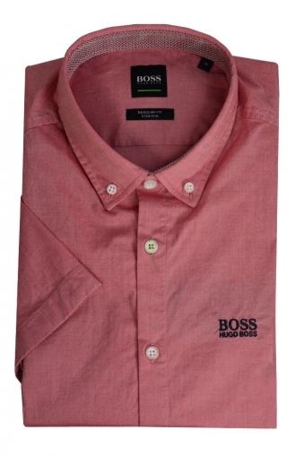 5fd7ac8ce21 Hugo Boss Short Sleeved Biadia Shirt Rose Pink New. Hugo Boss Green ...